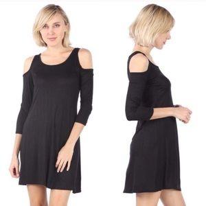 2x$12 ANNALEE + HOPE Black Dress like size M
